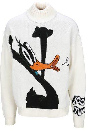GCDS Daffy Duck roll-neck jumper