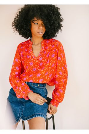 PYRUS LOLA BLOUSE IN JESSIE FLORAL PRINT