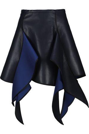 Y / PROJECT Women Mini Skirts - Flame asymmetric mini skirt
