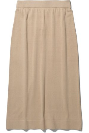 Norse projects Irma Knit Skirt in Limestone