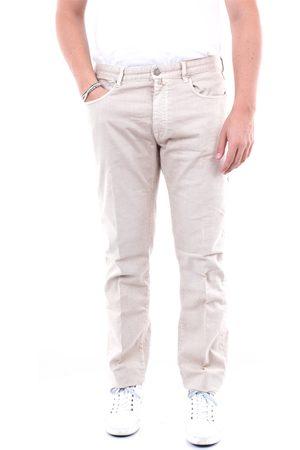 Incotex Jeans Slim Men Beige