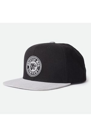 Brixton FORTE CROSSOVER MP SNAPBACK - BLK/GRY