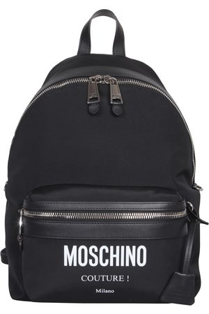 Moschino Men Wallets - LARGE BACKPACK WITH LOGO