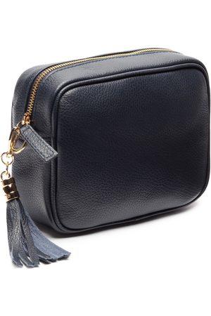 Elie Beaumont Navy Crossbody Bag