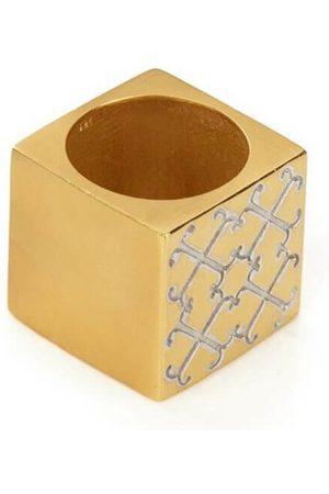 Jewel Tree London Pure Logo Cube Ring