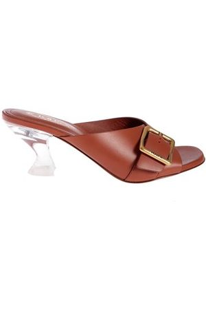 Tod's CLEAR HEEL SANDALS IN