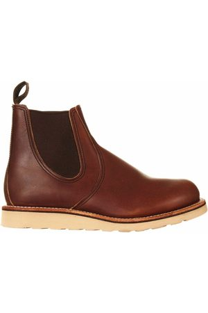 Red Wing 3190 Heritage Classic Chelsea Boot - Amber Leather Colour: Amber Leather