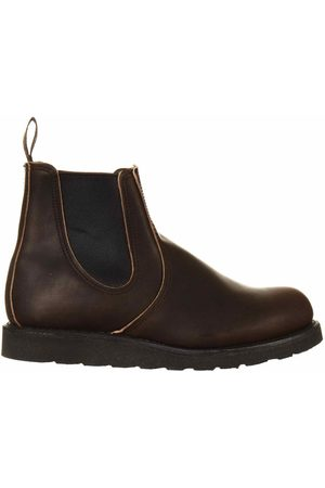 Red Wing 3191 Heritage Classic Chelsea Boot - Ebony Leather Colour: Ebony Leather