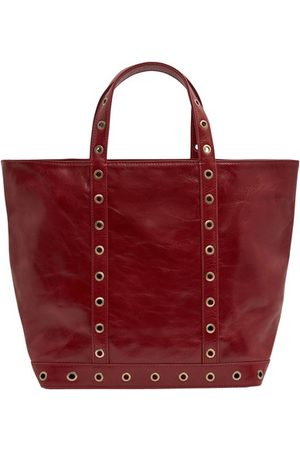 Vanessa Bruno Leather M Cabas Tote with Eyelets
