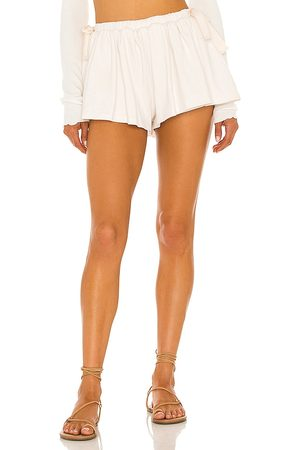 Lovers + Friends Tricia Short in Ivory.