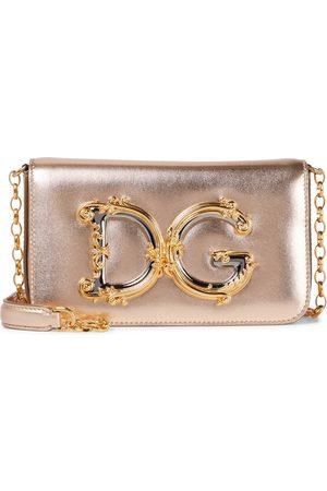 Dolce & Gabbana DG Girls Small leather shoulder bag