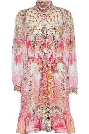 Camilla Exclusive to Mytheresa – Floral printed silk minidress