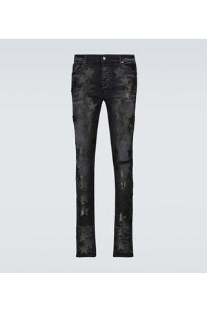 AMIRI Chemist Leather Stars jeans