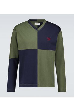 WALES BONNER Milton checkerboard sweater