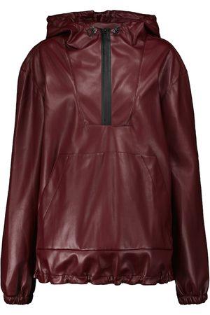 Deveaux New York Parker faux leather jacket