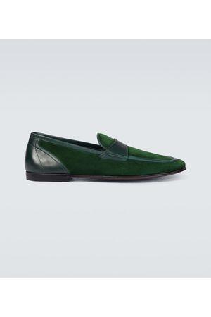 Dolce & Gabbana Ariosto velvet loafers