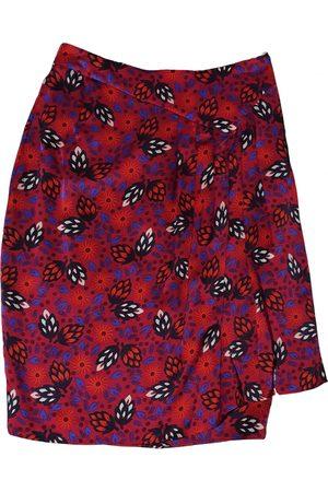 ARMAND VENTILO Silk mid-length skirt