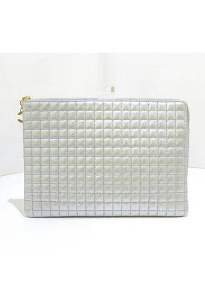 Céline Charm leather clutch bag