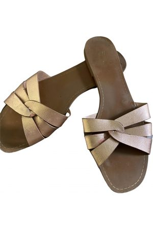H&M Women Mules - Leather mules