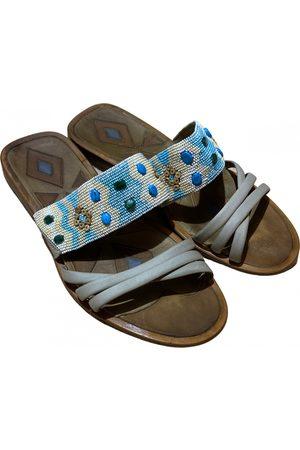 Roberto Cavalli Men Sandals - Leather sandals