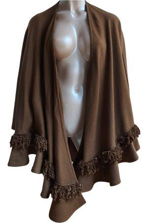 Dior Women Ponchos & Capes - Wool cape