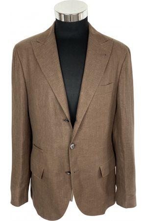 Brunello Cucinelli Men Gilets - Linen vest