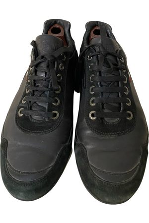 Moschino Leather low trainers