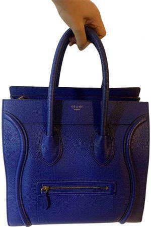 Céline Nano Luggage leather tote