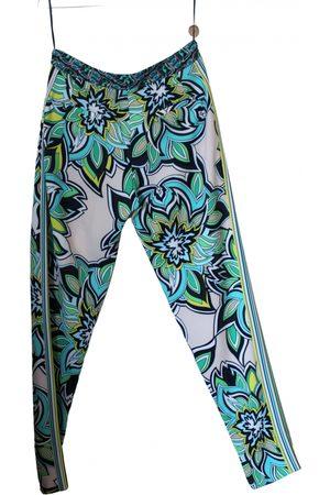 MARCO BOLOGNA Women Chinos - Silk chino pants