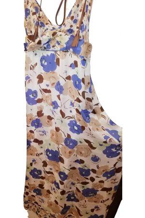 Atos Lombardini Silk maxi dress
