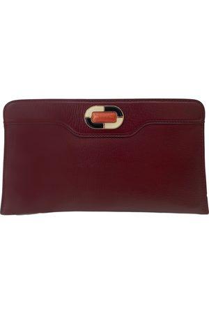 Bvlgari Leather clutch bag
