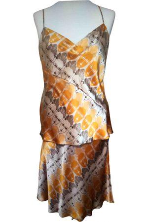 MUGLER Silk jumpsuit