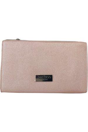 Jimmy Choo Vegan leather clutch bag
