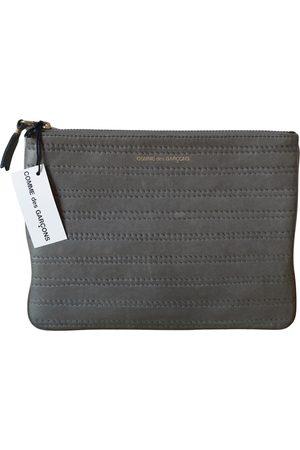 Comme des Garçons Leather clutch bag