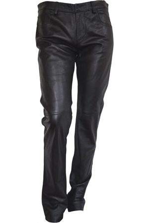 Costume National Men Leather Pants - Leather trousers