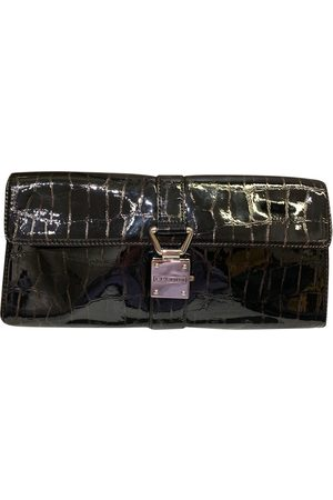 Sisley Patent leather clutch bag