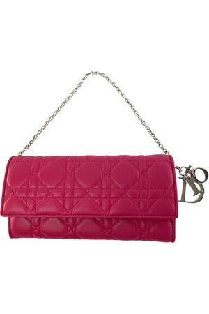 Dior Lady leather clutch bag