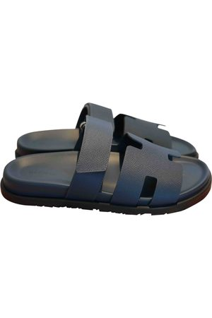 Hermès Chypre leather sandals