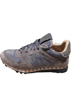 VALENTINO GARAVANI Leather low trainers