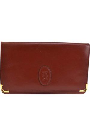 Cartier C leather clutch bag