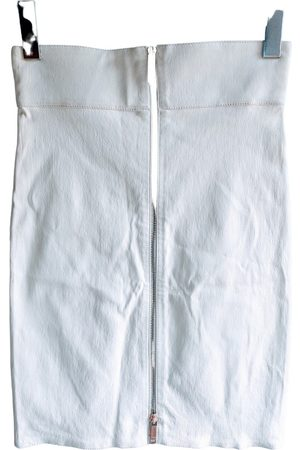 JITROIS Leather mini skirt