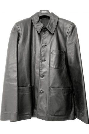 AGNÈS B. Leather coat