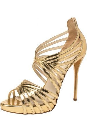 Oscar de la Renta Leather sandals