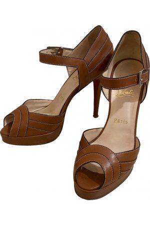 Christian Louboutin Leather sandal