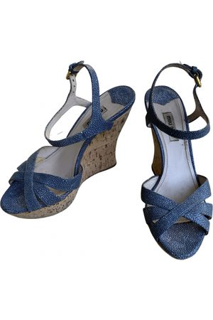 Miu Miu Patent leather sandal