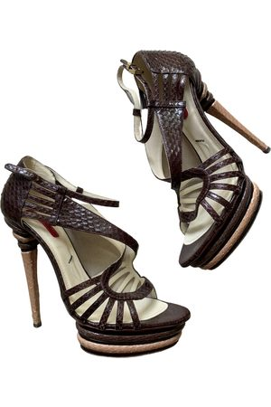 Cesare Paciotti Leather sandal
