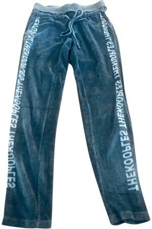 The Kooples Velvet straight pants