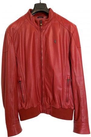 FERRARI STORE Leather jacket