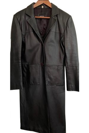 DNA Leather coat