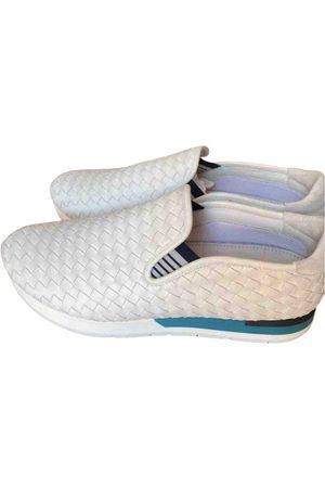 Bottega Veneta Leather low trainers